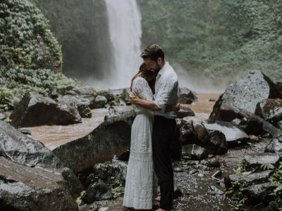 Amy + Michael // Ubud Waterfall